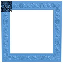 Picture frame or mirror A005033 download free stl files 3d model for CNC wood carving