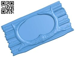 Picture frame or mirror A005034 download free stl files 3d model for CNC wood carving