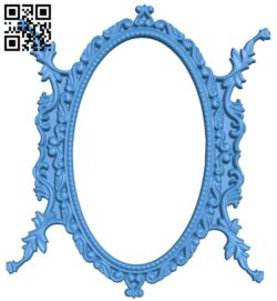 Picture frame or mirror A005035 download free stl files 3d model for CNC wood carving