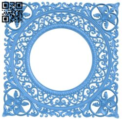 Picture frame or mirror A005036 download free stl files 3d model for CNC wood carving