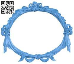Picture frame or mirror A005063 download free stl files 3d model for CNC wood carving
