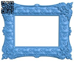 Picture frame or mirror A005064 download free stl files 3d model for CNC wood carving