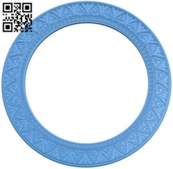 Picture frame or mirror A005151 download free stl files 3d model for CNC wood carving