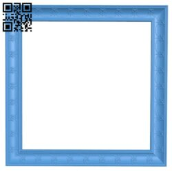 Picture frame or mirror A005153 download free stl files 3d model for CNC wood carving
