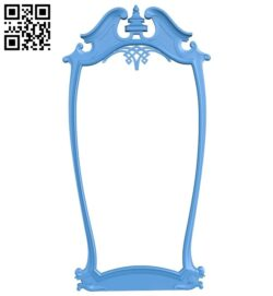 Picture frame or mirror A005156 download free stl files 3d model for CNC wood carving