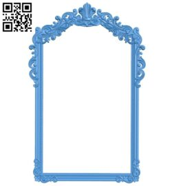 Picture frame or mirror A005178 download free stl files 3d model for CNC wood carving