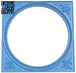 Picture frame or mirror A005197 download free stl files 3d model for CNC wood carving