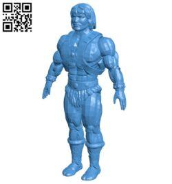 Robot heman B007792 file stl free download 3D Model for CNC and 3d printer