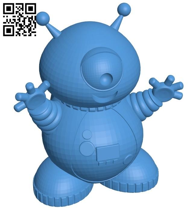 Robot monster B007944 file stl free download 3D Model for CNC and 3d printer