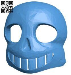 Sans mask B008004 file stl free download 3D Model for CNC and 3d printer