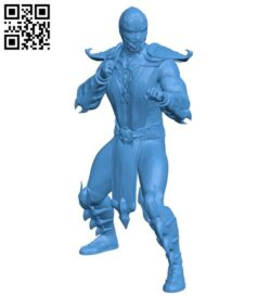 Scorpion pose B007993 file stl free download 3D Model for CNC and 3d printer