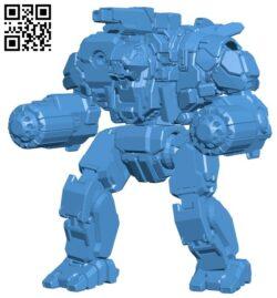 Scylla robot B007830 file stl free download 3D Model for CNC and 3d printer
