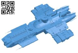 Ship icarus full B007795 file stl free download 3D Model for CNC and 3d printer