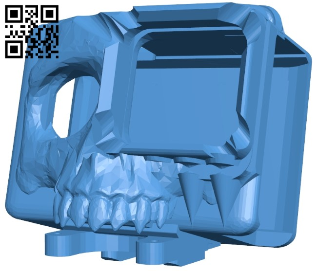 Skull Generic filter - camera B007897 file stl free download 3D Model for CNC and 3d printer