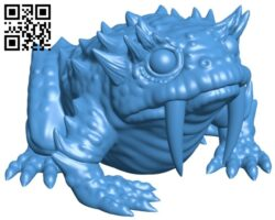 Slurk no drool – ghost toad B007828 file stl free download 3D Model for CNC and 3d printer