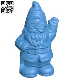 Snow old man statue B007987 file stl free download 3D Model for CNC and 3d printer