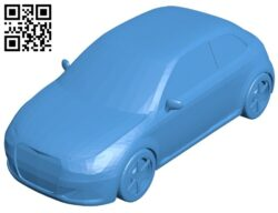 Sports coupe car B007902 file stl free download 3D Model for CNC and 3d printer