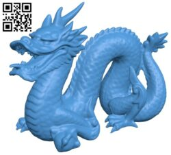 Stanford dragon B007989 file stl free download 3D Model for CNC and 3d printer