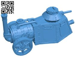 Steam tank B007835 file stl free download 3D Model for CNC and 3d printer