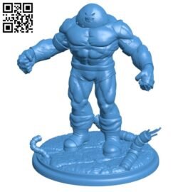 Super warrior Juggernaut – superhero B007804 file stl free download 3D Model for CNC and 3d printer
