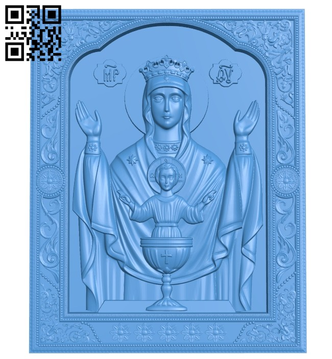 Symbol of the holy grail A005187 download free stl files 3d model for CNC wood carving