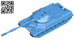 Tank B007797 file stl free download 3D Model for CNC and 3d printer