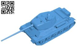 Tank T-43 B007879 file stl free download 3D Model for CNC and 3d printer