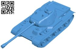 Tank t-44 B008025 file stl free download 3D Model for CNC and 3d printer