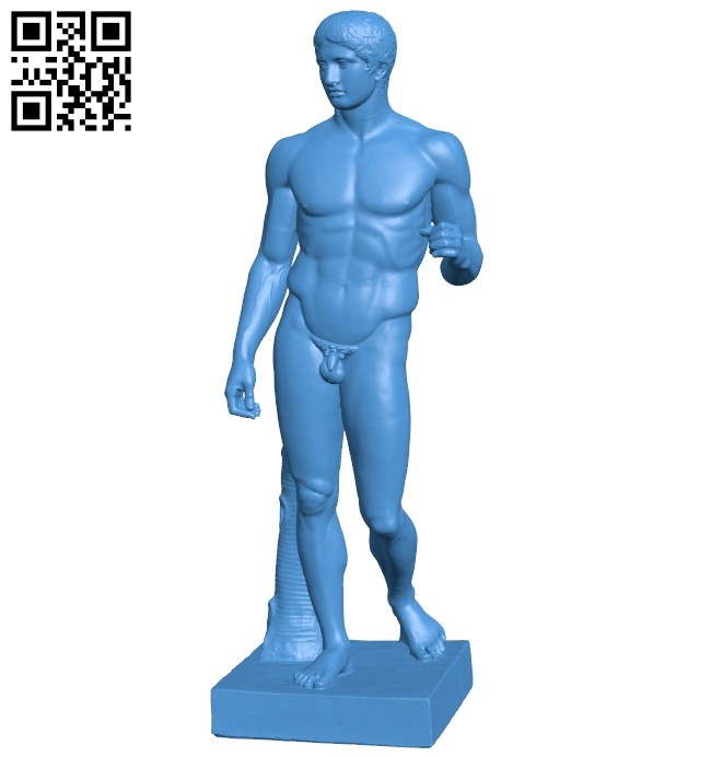 The Doryphoros B008037 file stl free download 3D Model for CNC and 3d printer