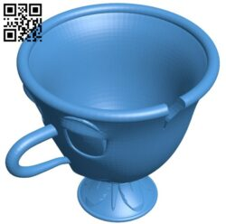 The cup – Chip B007623 file stl free download 3D Model for CNC and 3d printer