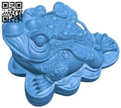 Toads suck up money bank B007676 file stl free download 3D Model for CNC and 3d printer