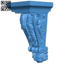 Top of the column A005077 download free stl files 3d model for CNC wood carving