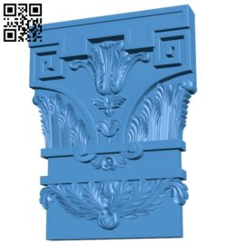 Top of the column A005079 download free stl files 3d model for CNC wood carving