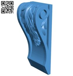 Top of the column A005082 download free stl files 3d model for CNC wood carving