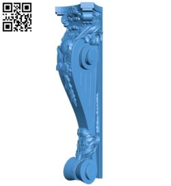 Top of the column A005123 download free stl files 3d model for CNC wood carving