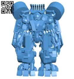 Transformers 2 PC Long Haul B007861 file stl free download 3D Model for CNC and 3d printer