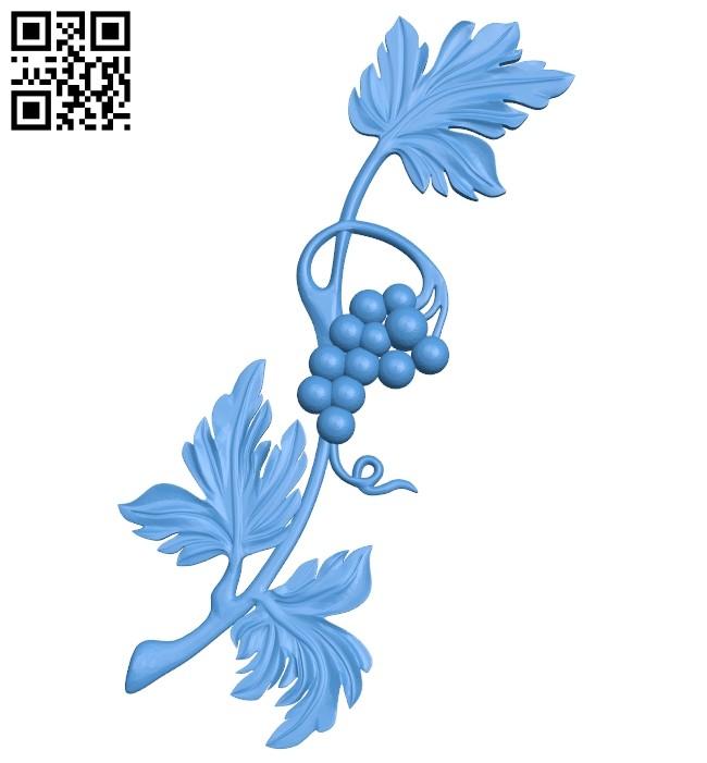 Vine pattern A005237 download free stl files 3d model for CNC wood carving