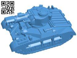 Warhammer tank B007742 file stl free download 3D Model for CNC and 3d printer