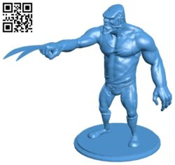 Werewolves – Super hero B007723 file stl free download 3D Model for CNC and 3d printer