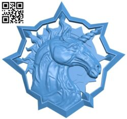 Witcher unicorn B007936 file stl free download 3D Model for CNC and 3d printer
