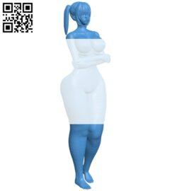 Women B007875 file stl free download 3D Model for CNC and 3d printer