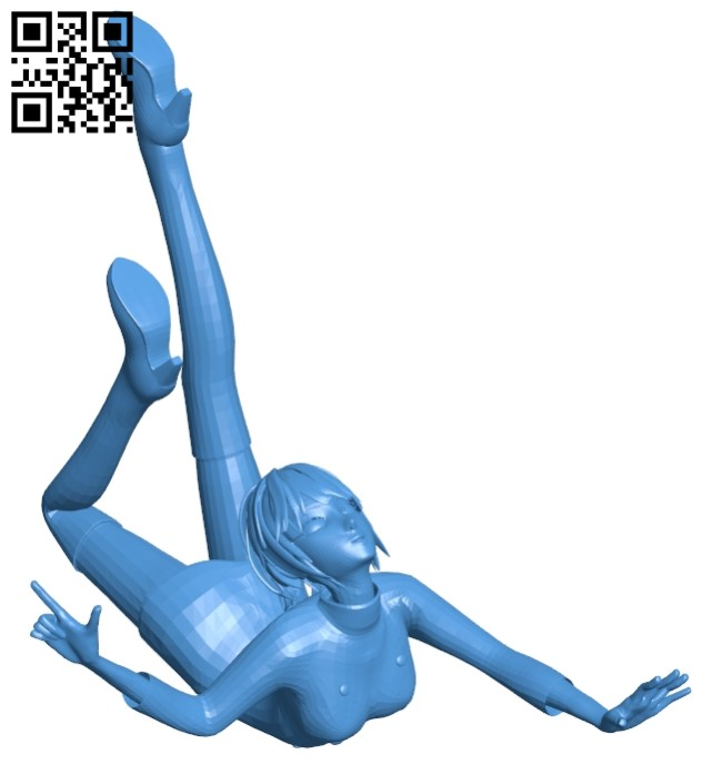 Women amazing B007880 file stl free download 3D Model for CNC and 3d printer