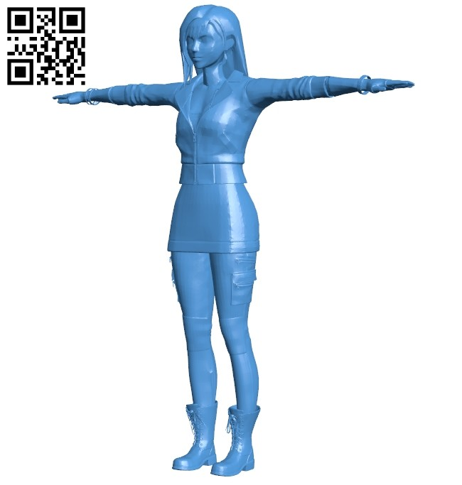Women elegant asian B008030 file stl free download 3D Model for CNC and 3d printer