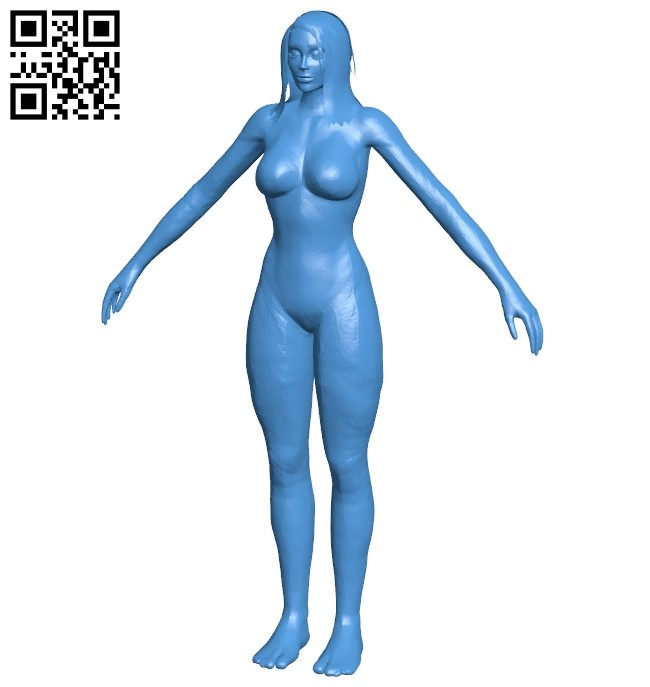 Wow female B007948 file stl free download 3D Model for CNC and 3d printer