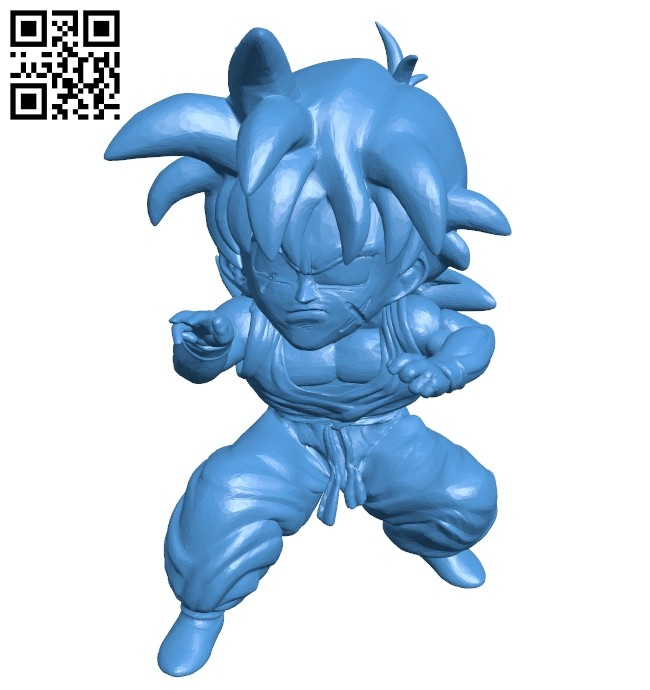 Yamcha 7 dragon balls B007690 file stl free download 3D Model for CNC and 3d printer