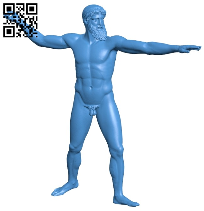 Zeus or Poseidon B007887 file stl free download 3D Model for CNC and 3d printer