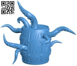 infested barrel B007796 file stl free download 3D Model for CNC and 3d printer