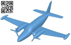 Aircraft PA-31T RPG-7 B008292 file stl free download 3D Model for CNC and 3d printer