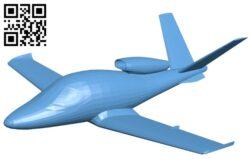 Aircraft VLJ B008263 file stl free download 3D Model for CNC and 3d printer