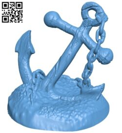 Anchor B008242 file stl free download 3D Model for CNC and 3d printer